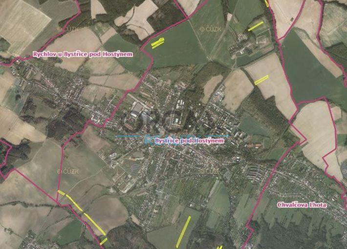 Aukce 5 5 Ha Pozemku V K U Bystrice Pod Hostynem Pozemky