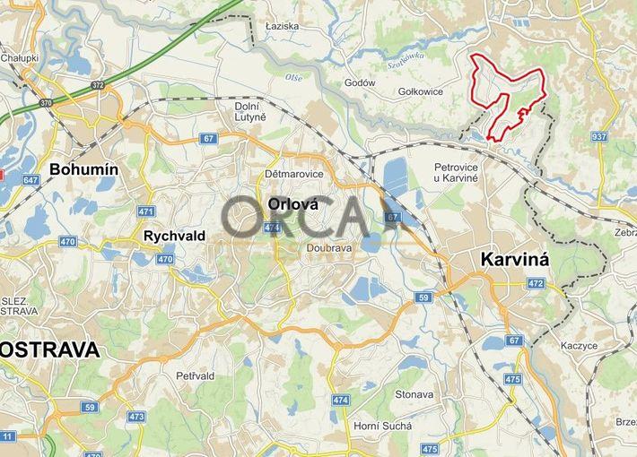 0,3 ha pozemků v k.ú. Prstná